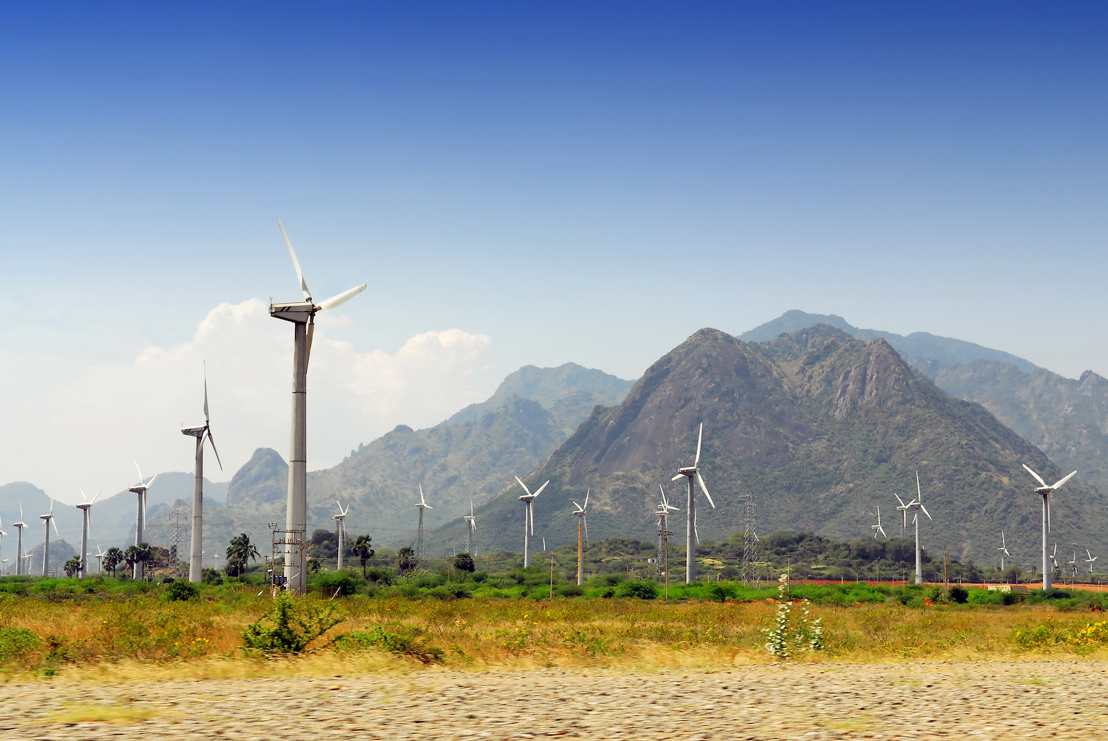 Bundled wind power project in Tamil Nadu, India